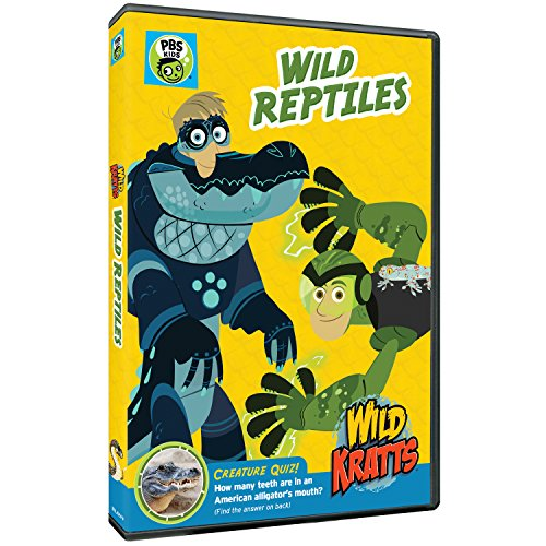 New August 2016 DVD & Blu-Ray Releases: Family-friendly Rated G, PG & PG-13Wild Kratts: Wild Reptiles DVD - Rated NR From PBS KIDS