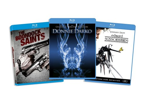 Blu-ray Cult Classic Bundle (Edward Scissorhands / Donnie Darko / The Boondock Saints) (Amazon.com Exclusive)