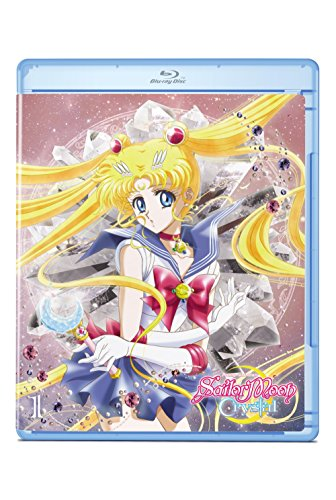 "New August 2016 DVD & Blu-Ray Releases: Family-friendly Rated G, PG & PG-13 Sailor Moon ""Crystal"" Set 1 Standard (Blu-rayBD/DVD combo pack) - Rated NR"