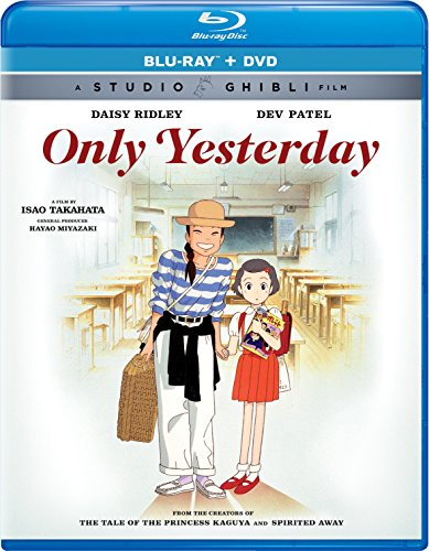 July 2016 DVD & Blu-ray Releases Family-Friendly Videos Rated G |PG|PG-13 - Only Yesterday - Studio Ghibli Film