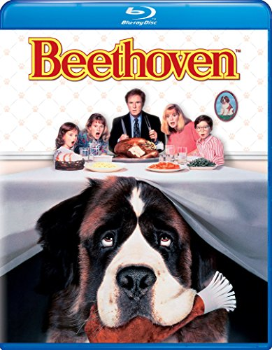 New August 2016 DVD & Blu-Ray Releases: Family-friendly Rated G, PG & PG-13 Beethoven 1992 Blu-ray - Rated PG Charles Grodin, Bonnie Hunt, and Dean Jones