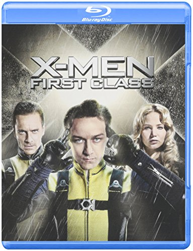 X-Men: First Class - DVD or Blu-ray Disc