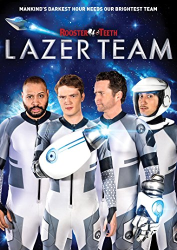 New August 2016 DVD & Blu-Ray Releases: Family-friendly Rated G, PG & PG-13 LAZER TEAM - Rated PG-13 Burnie Burns, Michael Jones, Colton Dunn, Gavin Free