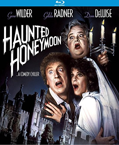 New August 2016 DVD & Blu-Ray Releases: Family-friendly Rated G, PG & PG-13 Haunted Honeymoon - Rate PG Starring Gene Wilder, Gilda Radner, and Dom DeLuise.