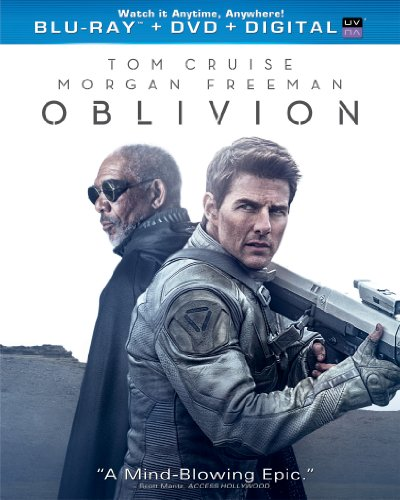 New August 2016 DVD & Blu-Ray Releases: Family-friendly Rated G, PG & PG-13 Oblivion- Rated PG-13 Starring Tom Cruise & Morgan Freeman