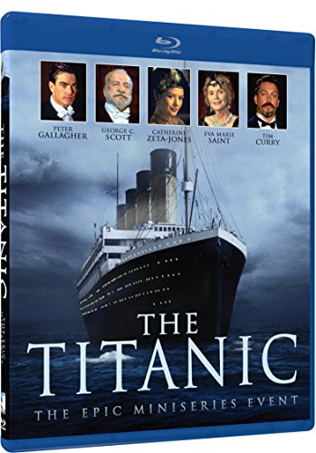New August 2016 DVD & Blu-Ray Releases: Family-friendly Rated G, PG & PG-13 The Titanic - The Epic Mini-Series Event- Blu-ray - Rated PG-13
