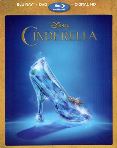 Cinderella (2015) Limited Edition Lenticular Packaging (Blu-Ray, DVD + Digital HD)