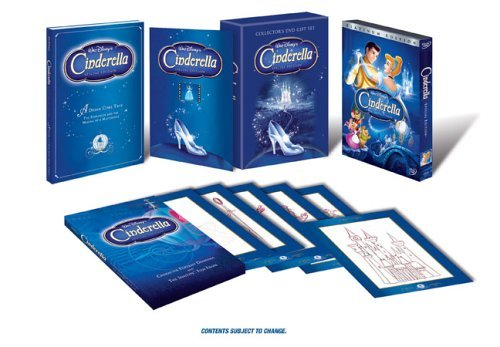 Cinderella (Disney Special Platinum Edition Collector's Gift Set) by Ilene Woods