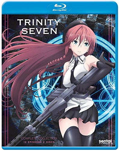 New August 2016 DVD & Blu-Ray Releases: Family-friendly Rated G, PG & PG-13 Trinity Seven - Rated Unrated By Kenji Saitou, Akinari Nao, etc
