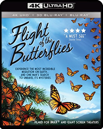 July 2016 DVD & Blu-ray Releases Family-Friendly Videos Rated G |PG|PG-13 - Flight of the Butterflies