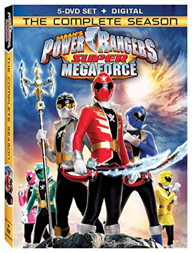 New August 2016 DVD & Blu-Ray Releases: Family-friendly Rated G, PG & PG-13 Power Rangers Super Megaforce: The Complete Season DVD + Digital - Rated NR Andrew M Gray and Ciara Hanna