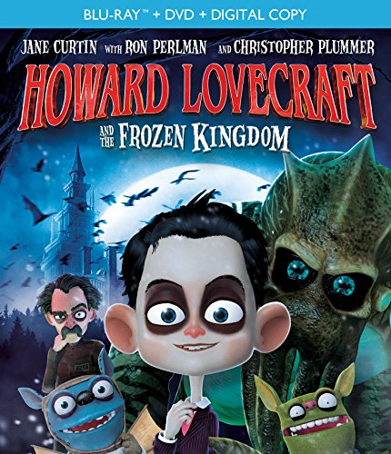 New August 2016 DVD & Blu-Ray Releases: Family-friendly Rated G, PG & PG-13 Howard Lovecraft and the Frozen Kingdom (Bluray / DVD Combo) [Blu-ray] - Rated PG Ron Perlman & Christopher Plummer