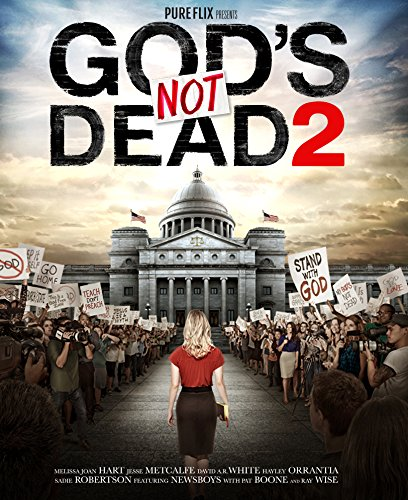 New August 2016 DVD & Blu-Ray Releases: Family-friendly Rated G, PG & PG-13 God's Not Dead 2 - Rated PG Starring Melissa Joan Hart and Jess Metcalfe
