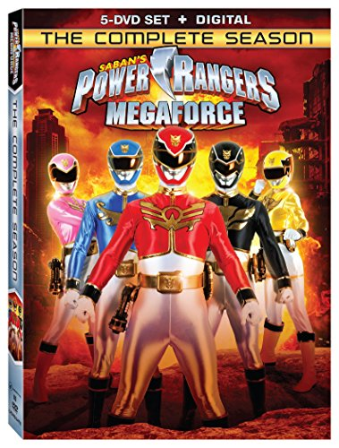 New August 2016 DVD & Blu-Ray Releases: Family-friendly Rated G, PG & PG-13 Power Rangers Megaforce: The Complete Season DVD- Rated NR Andrew Gray and John Mark Loudermilk