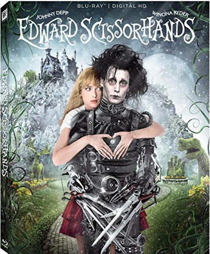 Edward Scissorhands - Johnny Depp & Winona Ryder - The 25th Anniversary version is sold out, but the film is available on DVD and Blu-ray