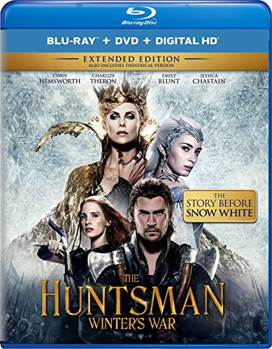 New August 2016 DVD & Blu-Ray Releases: Family-friendly Rated G, PG & PG-13 The Huntsman Winter's War - Rated PG-13 Starring Chris Hemsworth, Charlize Theron, Emily Blunt, Jessica Chastain, Nick Frost, Sheridan Smith, Rob Brydon, Alexandra Roach, Sam Claflin, and Colin Morgan