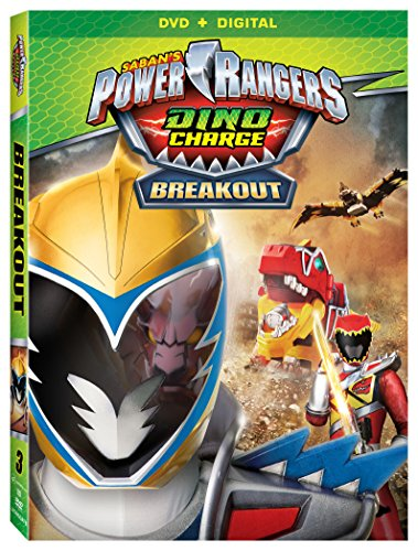 July 2016 DVD & Blu-ray Releases Family-Friendly Videos Rated G |PG|PG-13 - Power Rangers Dino Charge Breakout