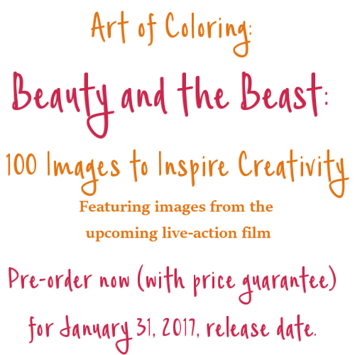 Art of Coloring Beauty and the Beast Live Action