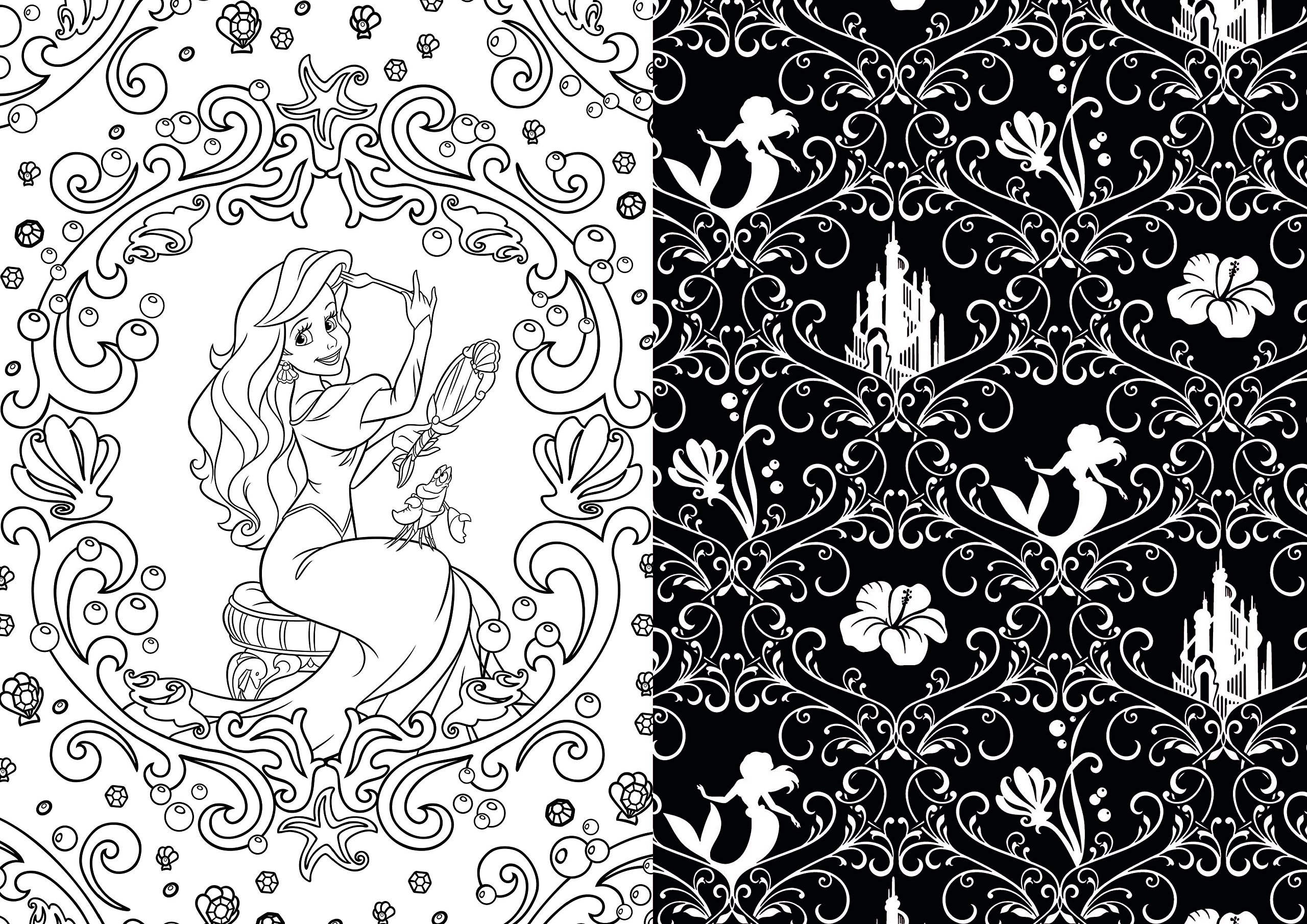 Disney Adult Coloring Books