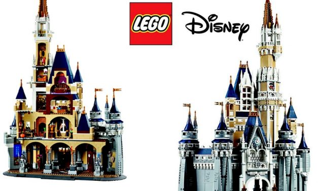 NEW 2016 LEGO Disney Cinderella Castle Set Photos Released