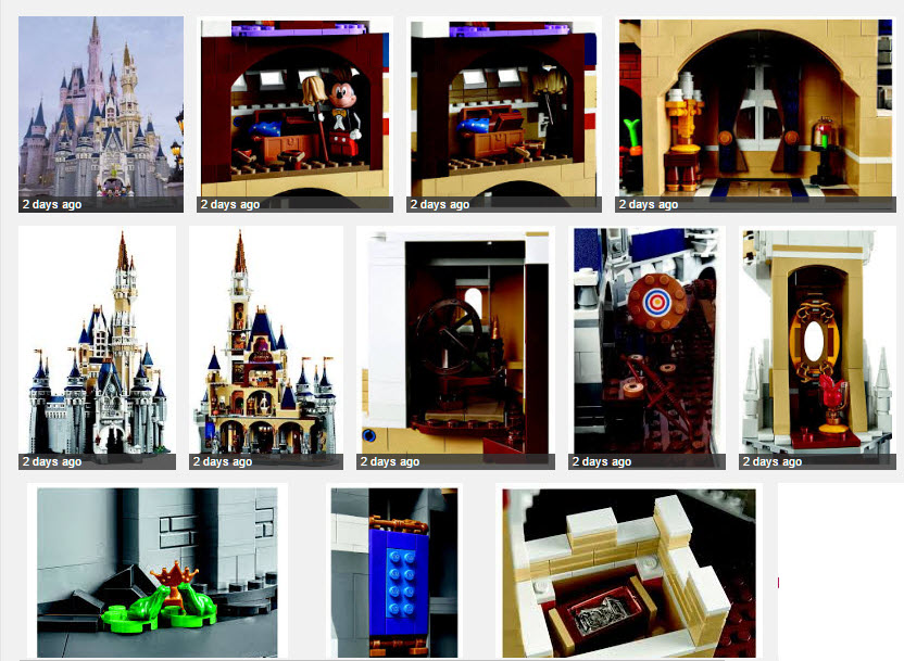 LEGO Disney Cinderella Castle - Walt Disney World 2016 release