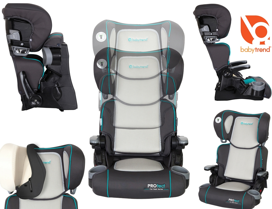 New PROtect Car Seat SeriesYumi-2-in-1 Folding Booster Seat