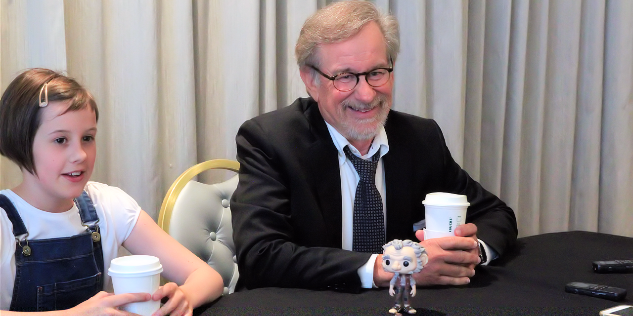 The BFG: Steven Spielberg and Ruby Barnhill Interview #TheBFGEvent #TheBFG