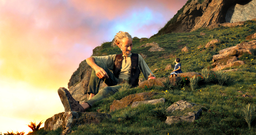 Disney's THE BFG is the imaginative story of a young girl named Sophie (Ruby Barnhill) and the Big Friendly Giant (Oscar (TM) winner Mark Rylance) who introduces her to the wonders and perils of Giant Country Directed by Steven Spielberg, the film is based on the beloved book by Roald Dahl. #TheBFGEvent