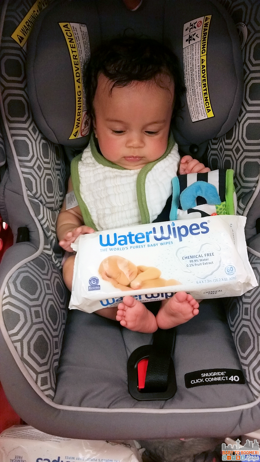 WaterWipes: Clean Baby Naturally and Without Harmful Chemicals #WaterWipesTarget #IC #ad