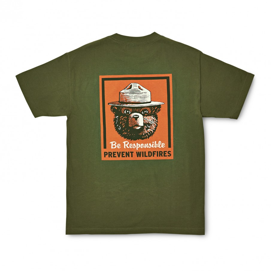 Short Sleeve Smokey Bear T-Shirt