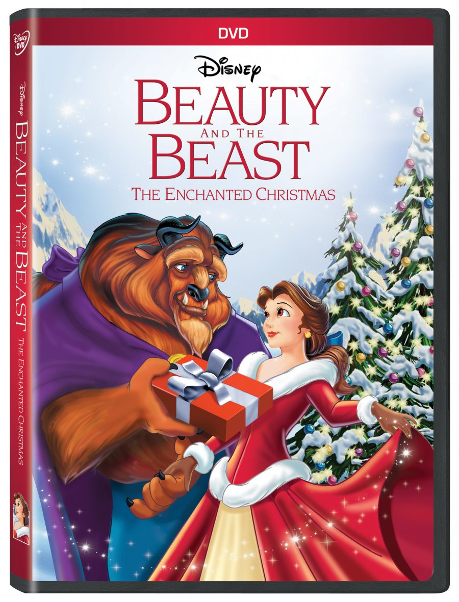 October 25, 2016, Disney continues their epic fairy tale of Belle and the Beast, with the release Beauty and the Beast The Enchanted Christmas on DVD. It coincides with the 25th anniversary of its original release.