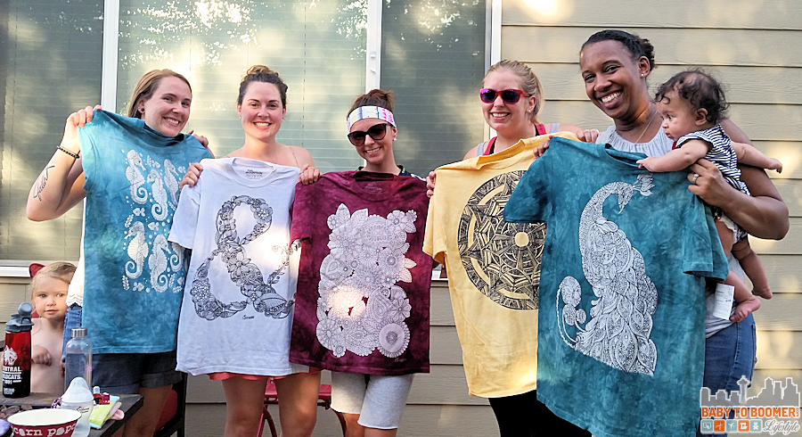 Colorwear Party - Colorwear Tees - Create you own wearable art! #Colorwear #IC #Ad @Colorwear