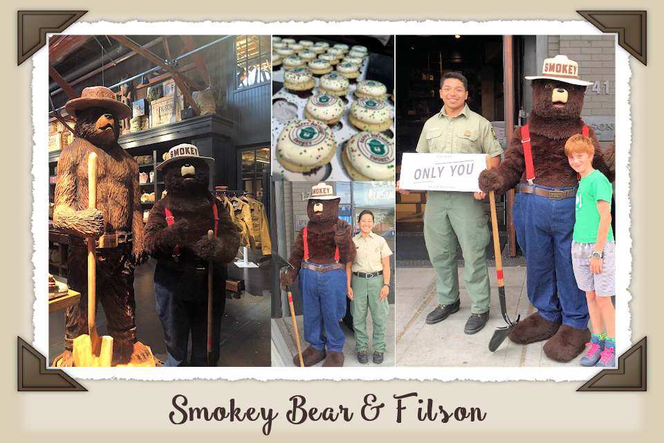 Filson's Smokey Bear Collection Benefits Wildfire Prevention Ed