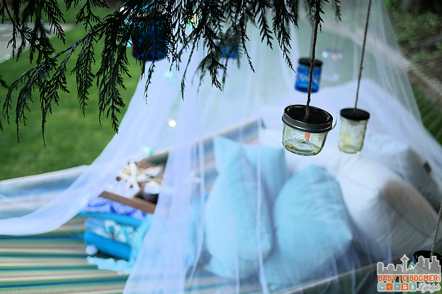 Msg 4 21+: Glamping Make Your Own Marker Lanterns #ShareWine #CollectiveBias #ad Glamping Decor Preperation