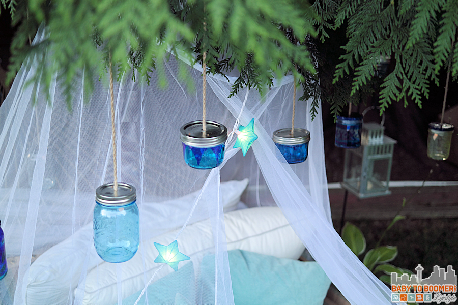 Msg 4 21+: Glamping Make Your Own Marker Lanterns #ShareWine #CollectiveBias #ad Glamping preperation