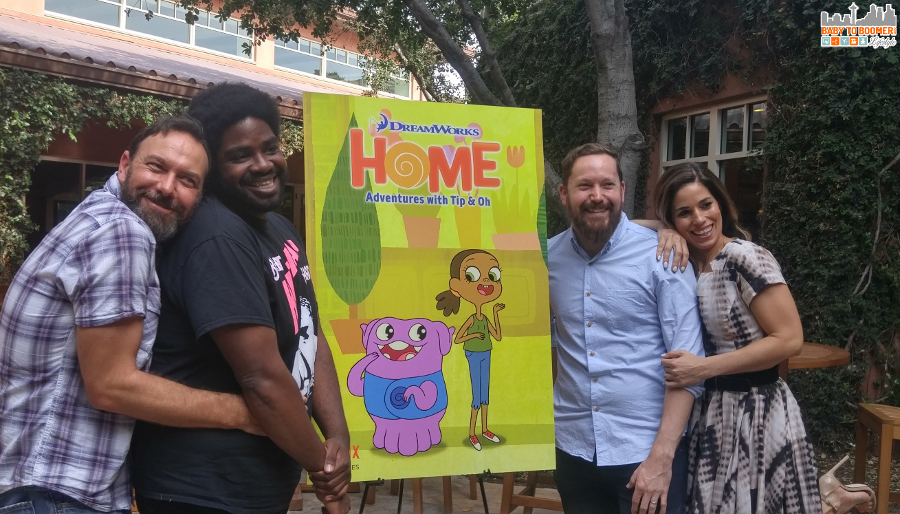 Interview With Ana Ortiz, Ron Funches, Ryan Crego & Todd Garfield #DreamWorks