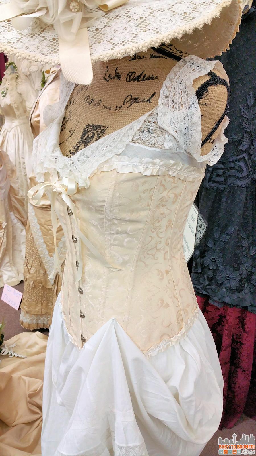 Victorian Bridal Museum Hemet CA Underpinnings