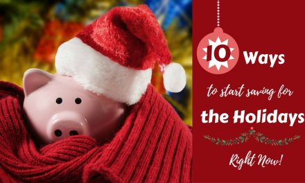 10 Ways To Start Saving For The Holidays Right Now & Free No-Spend Month Printable