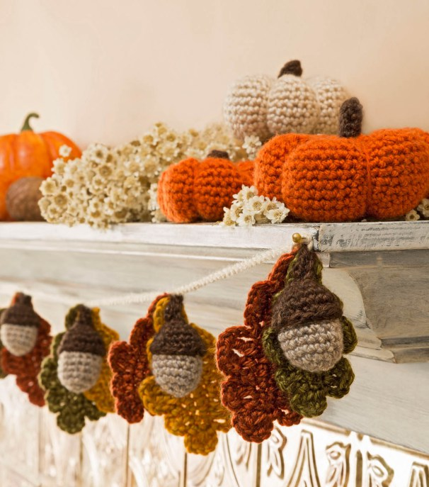 Fall Crochet Patterns : Free Fall Crochet Patterns - Home Decor, Hats and More