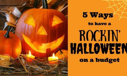 5 Ways To Celebrate Halloween On A Budget