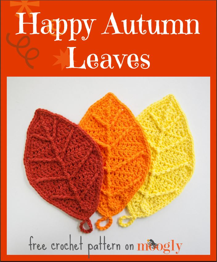 Autumn Leaves Free Crochet Pattern
