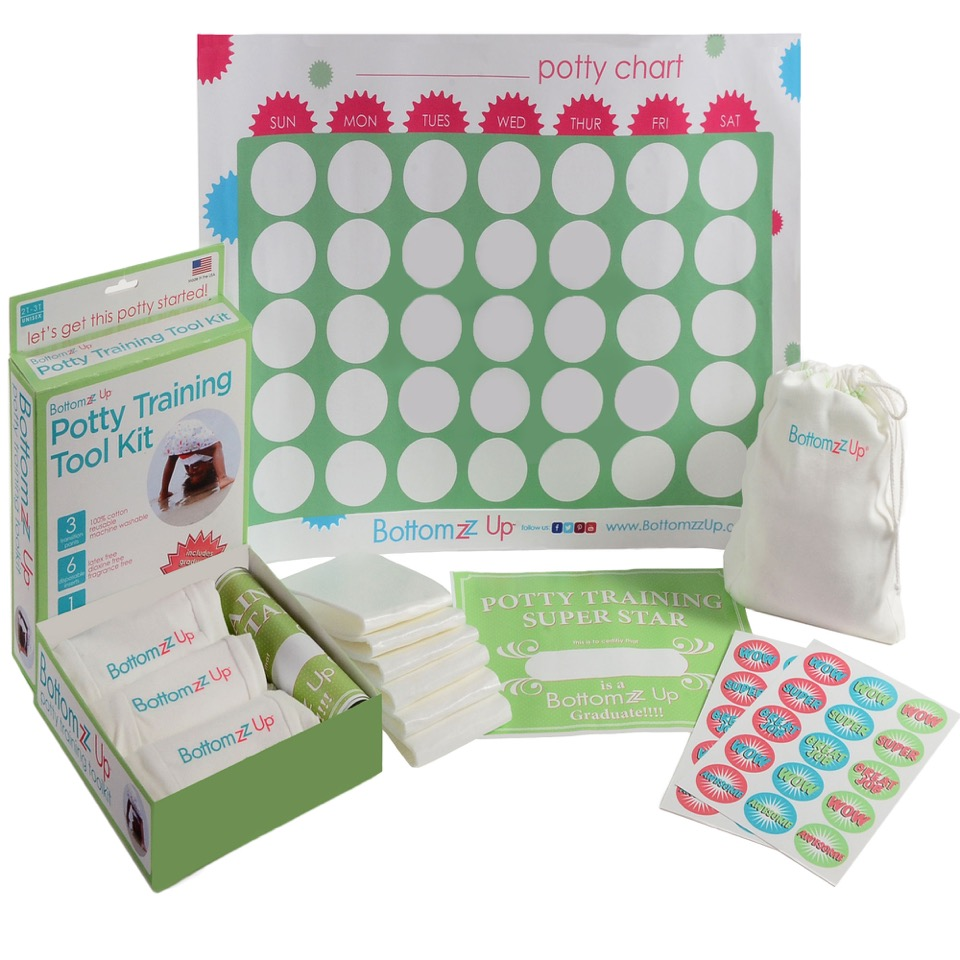 BottomZz Up Potty Training Toolkit #Giveaway