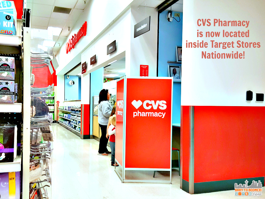 CVS Pharmacy Now Inside Target Stores #TheCVSDifference @CVS_Extra