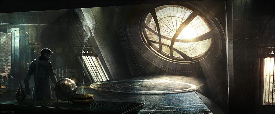 Marvel's Doctor Strange Concept Art - In theaters 11/4/16