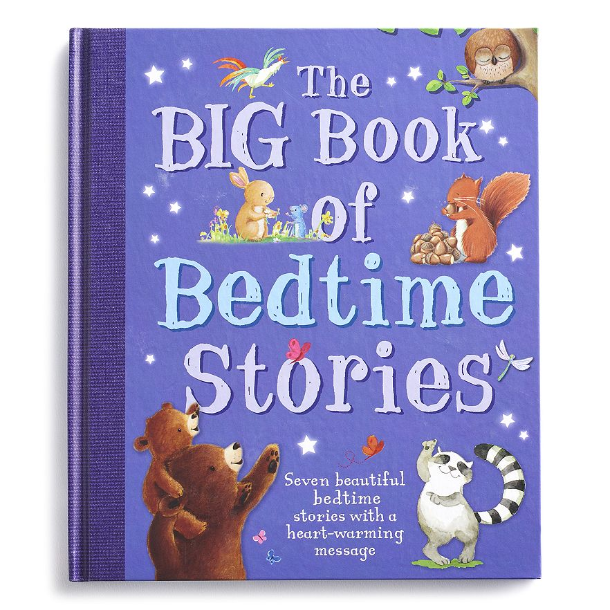 Fall 2016 Kohl's Cares The Big Book of Bedtime Stories - hardback book $5 Exclusive