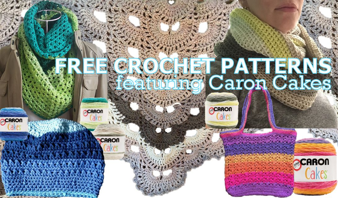 Crochet Patterns Caron Cakes : Free Crochet Patterns Featuring Caron Cakes Yarn #FreeCrochetPatterns