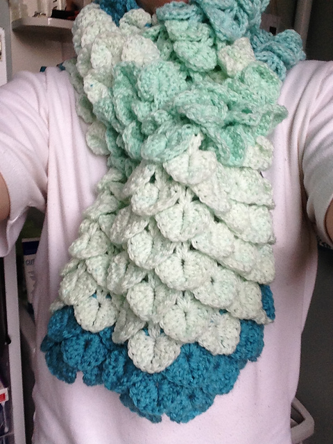 Crochet Patterns For Caron Cakes : ... Stitch Scarf by Michael Sellick using Caron Cakes Faerie Cake Yarn