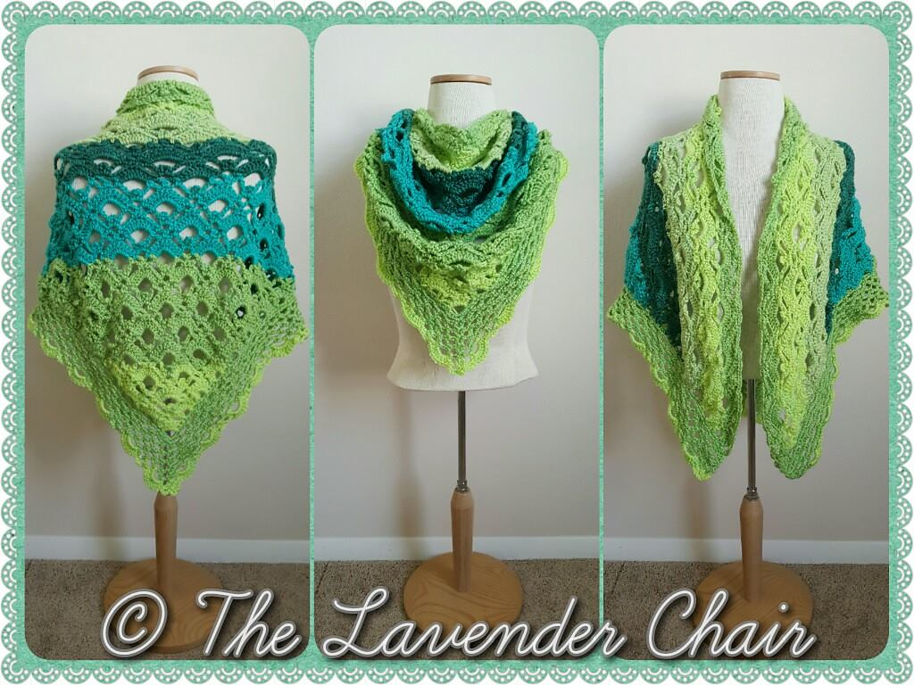 Free Crochet Shawl Patterns For Caron Cakes