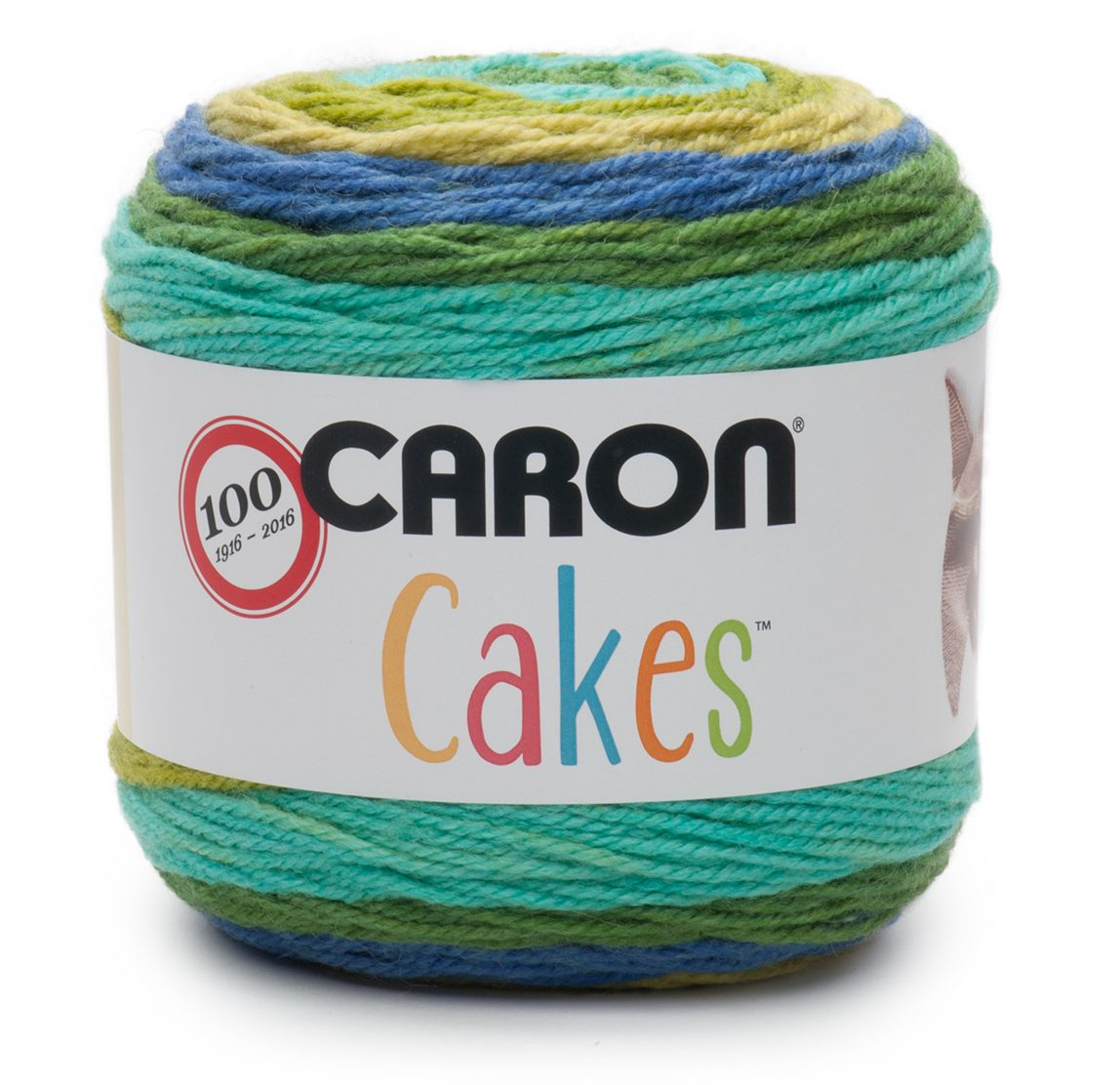 NEW Caron Cakes Blueberry Kiwi Yarn - one of 8 new colorways for 2017 plus free patterns featuring the original Caron Cakes colors
