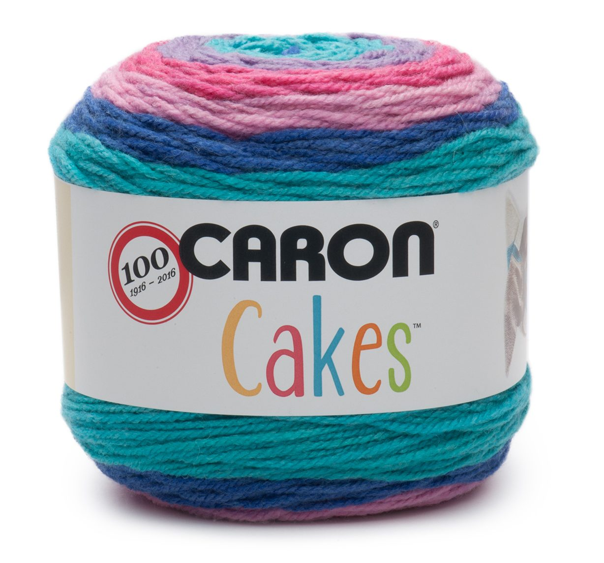 NEW Caron Cakes Mixed Berry Yarn - one of 8 new colorways for 2017 plus free patterns featuring the original Caron Cakes colors